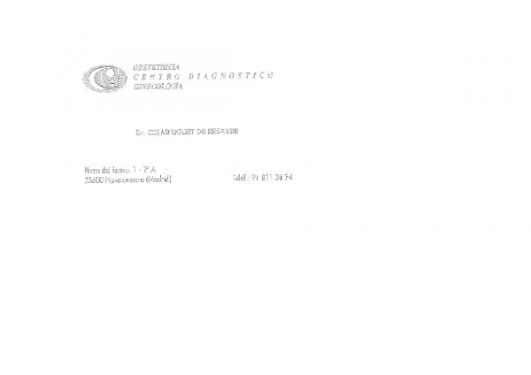 CENTRO DE OBSTETRICIA Y GINECOLOGÍA DIAGNÓSTICO