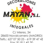 DECORACIONES INTEGRALES MAYAN S.L.