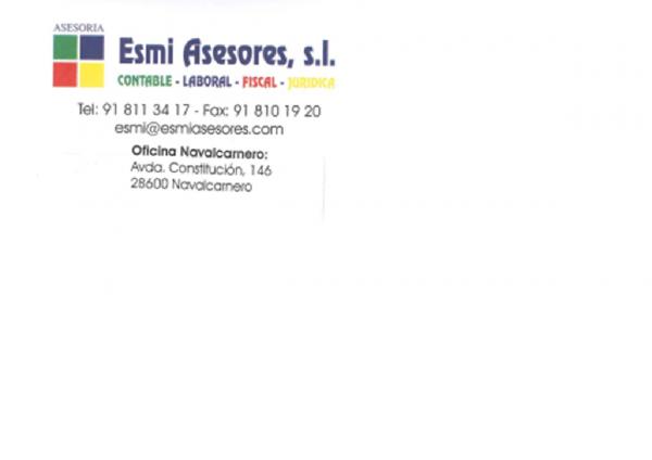 ESMI ASESORES. GESTORIA J. DE MIGUEL