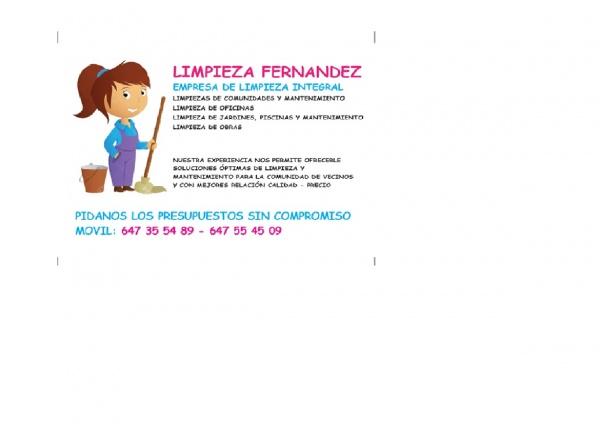 LIMPIEZA FERNÁNDEZ