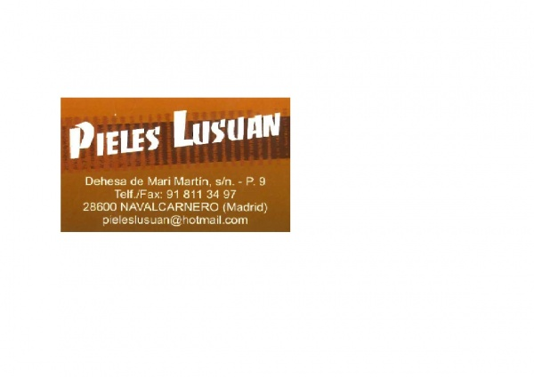 PIELES LUSUAN, S.L.
